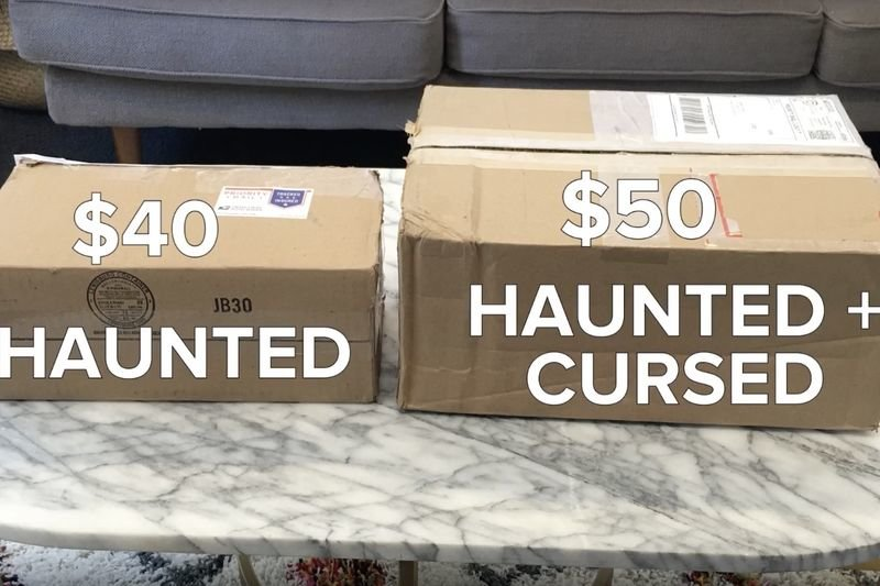 Video The Haunted Mystery Box On Ebay