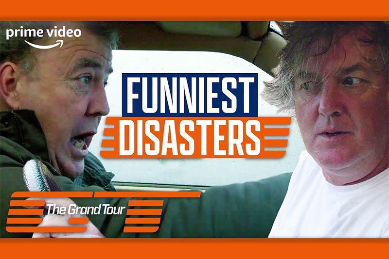 Amazon Prime,funny,entertainment,television,Top Gear,Richard Hammond, James May,Jeremy Clarkson,crash,disaster,funniest accidents and disasters,The Grand Tour,