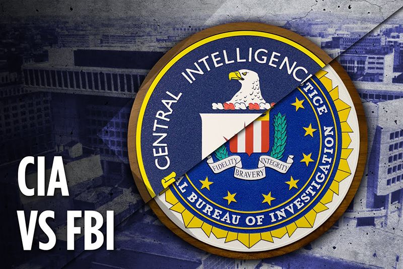 Viral,cia and fbi differences,what's the difference between the fbi and the cia,what does the cia do,what does the fbi do,cia,fbi,Central Intelligence Agency,Federal Bureau of Investigations,