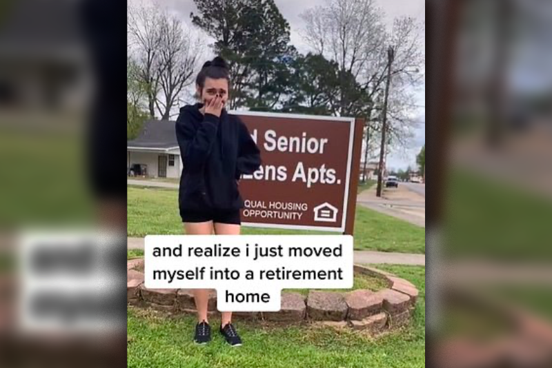 Viral,TikTok,senior,accidentally,contract,sign,lease,Apartment,Move,Retirement village,teen,teenager,