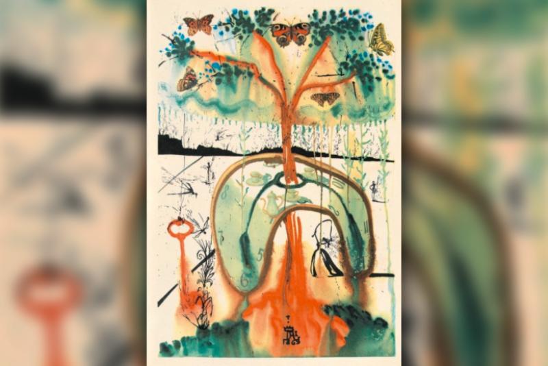 Salvador Dali,Alice in Wonderland,Surrealism,Lewis Carroll,Art,Illustrations,Viral,